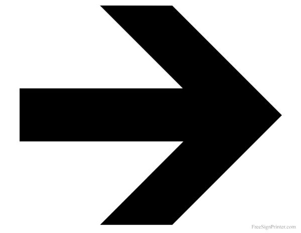 Dramatic image with printable arrow signs