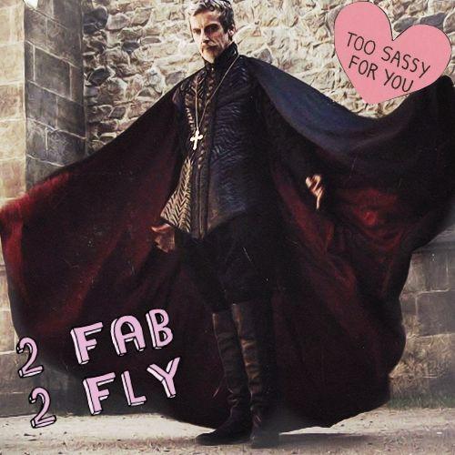 2 Fab  The Musketeers BBC Cardinal Richelieu / Peter Capaldi