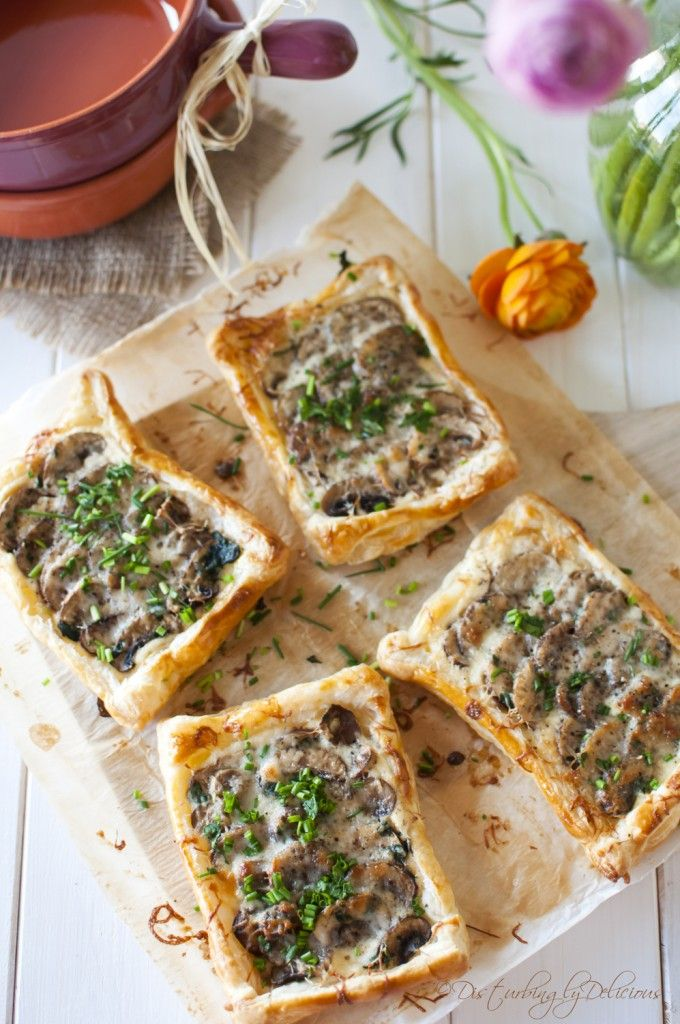Disturbingly Delicious - Mini Mushroom Tarts