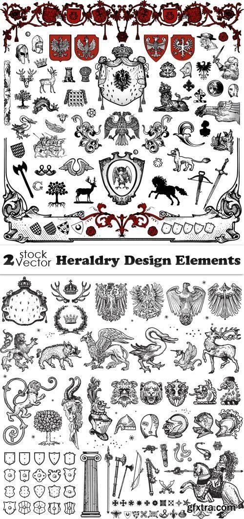 Vectors - Heraldry Design Elements