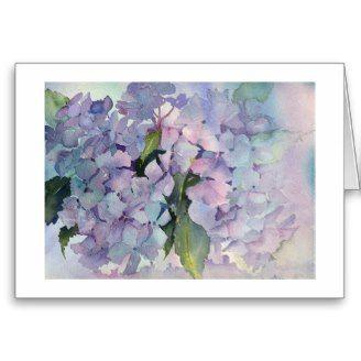 Zazzle creates beautiful cards with my art work...