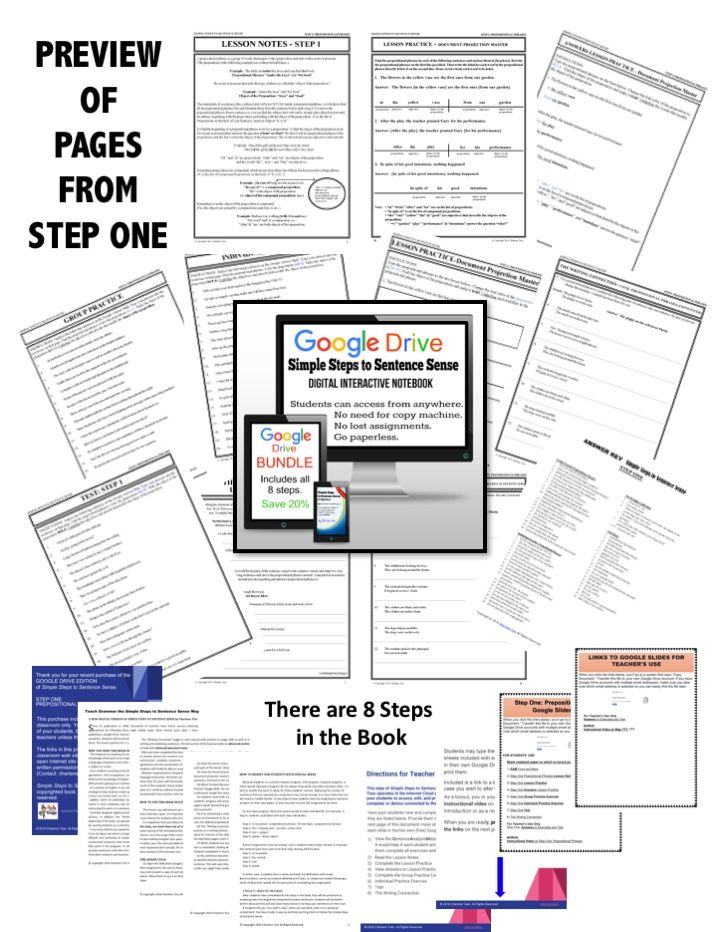 Look at all the pages you get in Step One. There are 8 steps in the book.