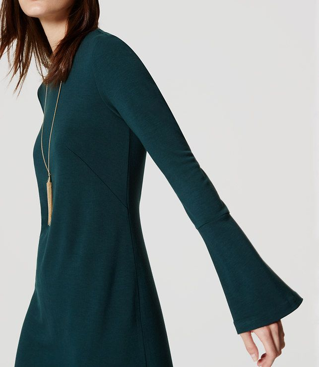 Thumbnail Image of Color Swatch 2068 Image of Bell Sleeve Dress