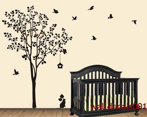vinyl wall decal wall sticker tree decals murals by walldecals001 - Wall Sticker Design Ideas