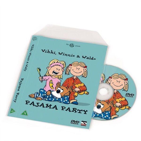 DVD Lommer med plads til cover