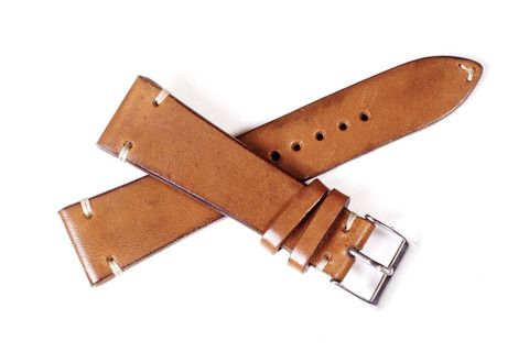 Honey Leather Strap