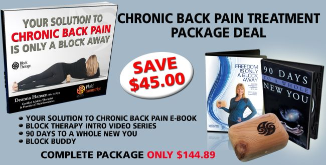 Chronic Back Pain treatment package