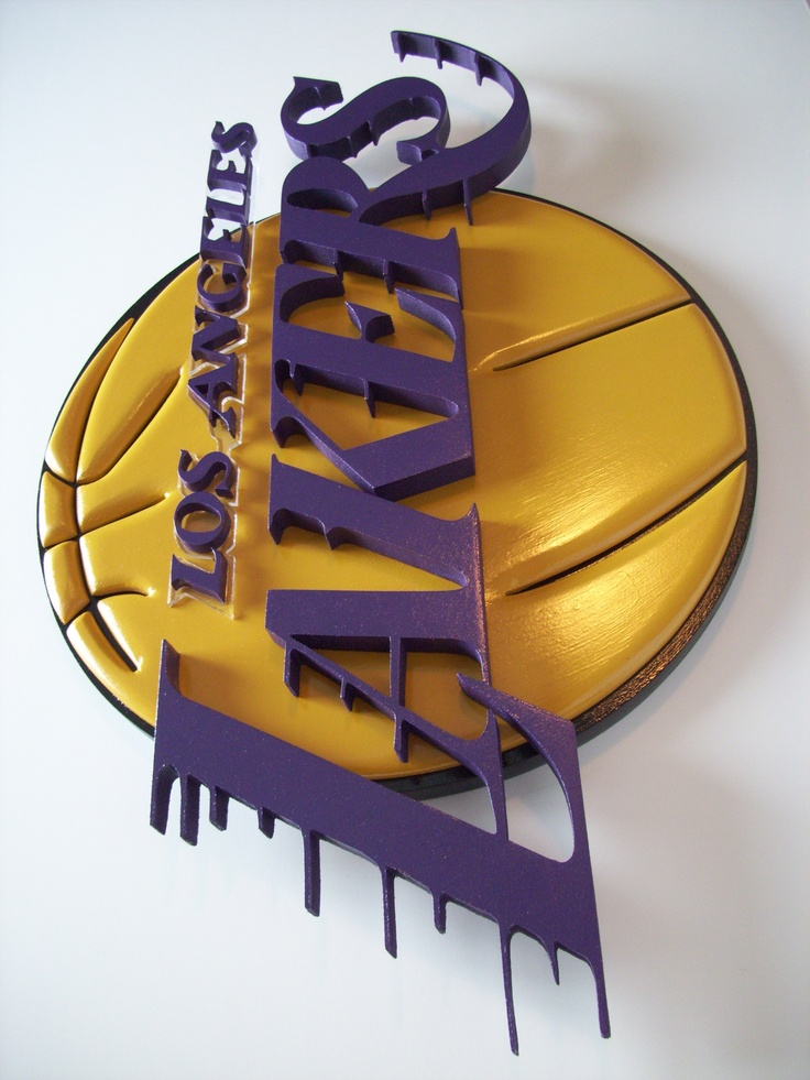 Pin By Mylinda Mortensen On My Husbands Creations Lakers