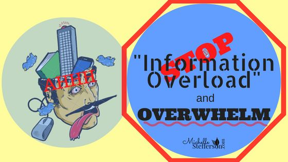 Feeling overwhelmed? Is information overload overwhelming you in your network marketing business? It's really common to face information overload.