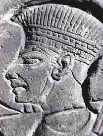 TOG Unit 2 Week 17: The Rise of Saul and the Philistines  Philistine Head Dress from Medinet Habu