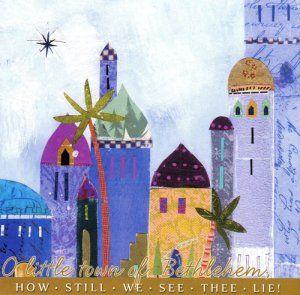 Christmas card - Bethlehem
