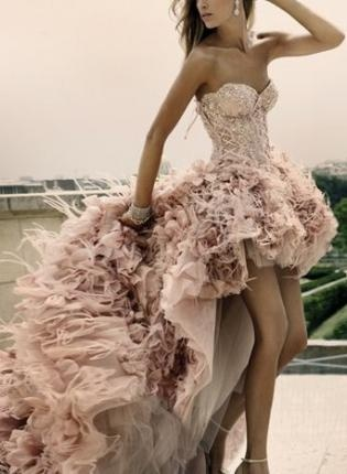 LOVE.: Paris, Wedding Dressses, Zuhairmurad, Fashion, Zuhair Murad, Gowns, Pink, Dreams Dresses, The Dresses