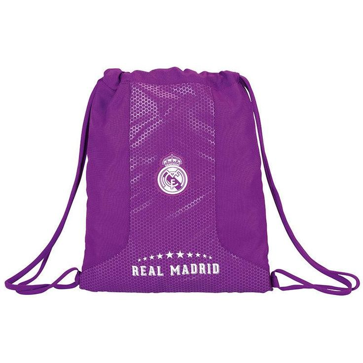 Saco Real Madrid Purple 40cm