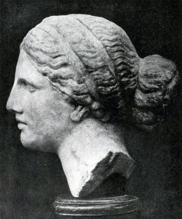 Пракситель. Голова Афродиты Книдской