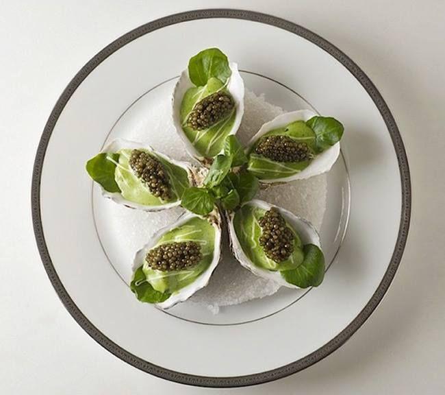 Pierre Gagnaire. Restaurant Relais & Châteaux en ville. France, Paris. #PierreGagnaire #RelaisChateaux #Gastronomie #Chef #Gourmet #FineDining