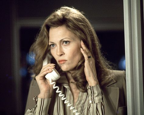 Diana Christensen, Faye Dunaway, Network. Insane yes.  But copulates quickly.