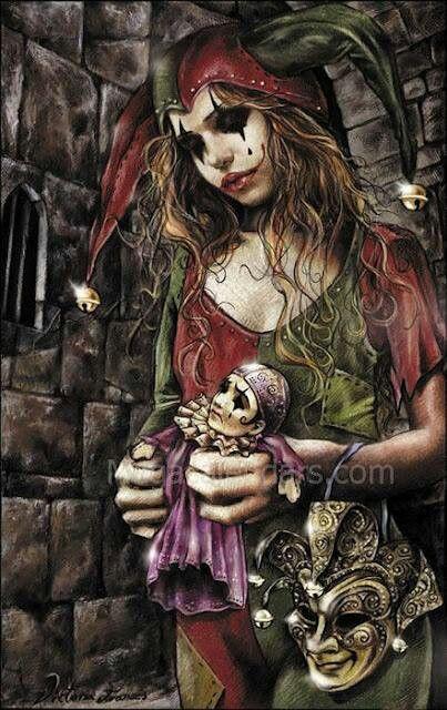 Harley Quinn by Victoria Frances
