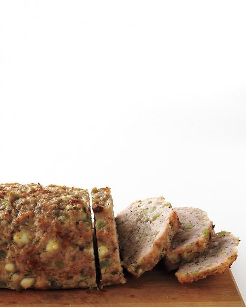 Greek-Style Turkey Meatloaf Recipe | Martha Stewart