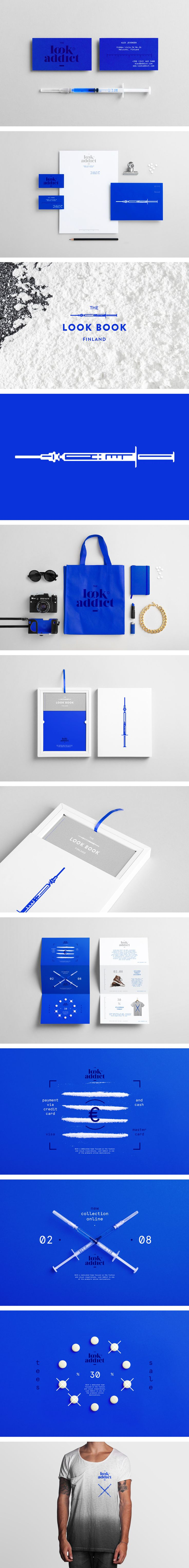 Look Addict Identity by NOEEKO — Design Studio | #stationary #corporate #design #corporatedesign #identity #branding #marketing < repinned by www.BlickeDeeler.de | Take a look at www.LogoGestaltung-Hamburg.de