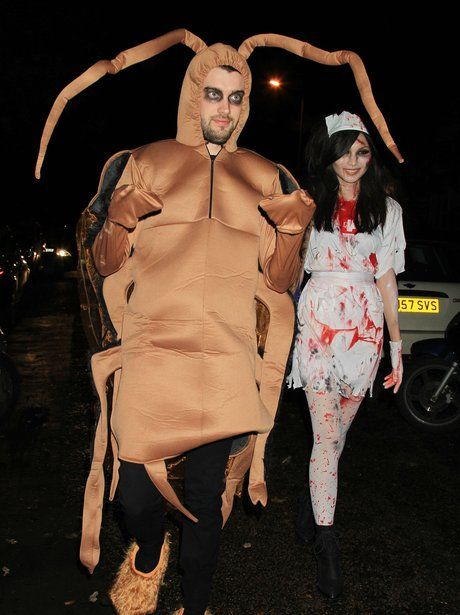 jack whitehall and gemma chan in halloween costumes