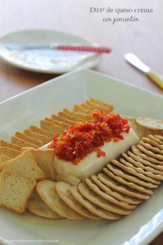 Este dip de queso crema se convetirá en un hit cada vez que lo sirvas en una fiesta. Te comparto la rica receta que me dio mi amiga Claudia.