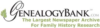 Genealogy Bank has the largest online collection of newspapers .  Their search engine is outstanding and chances are good that you'll find many records for your families.  The first 30 days are free, so it's worth trying out.