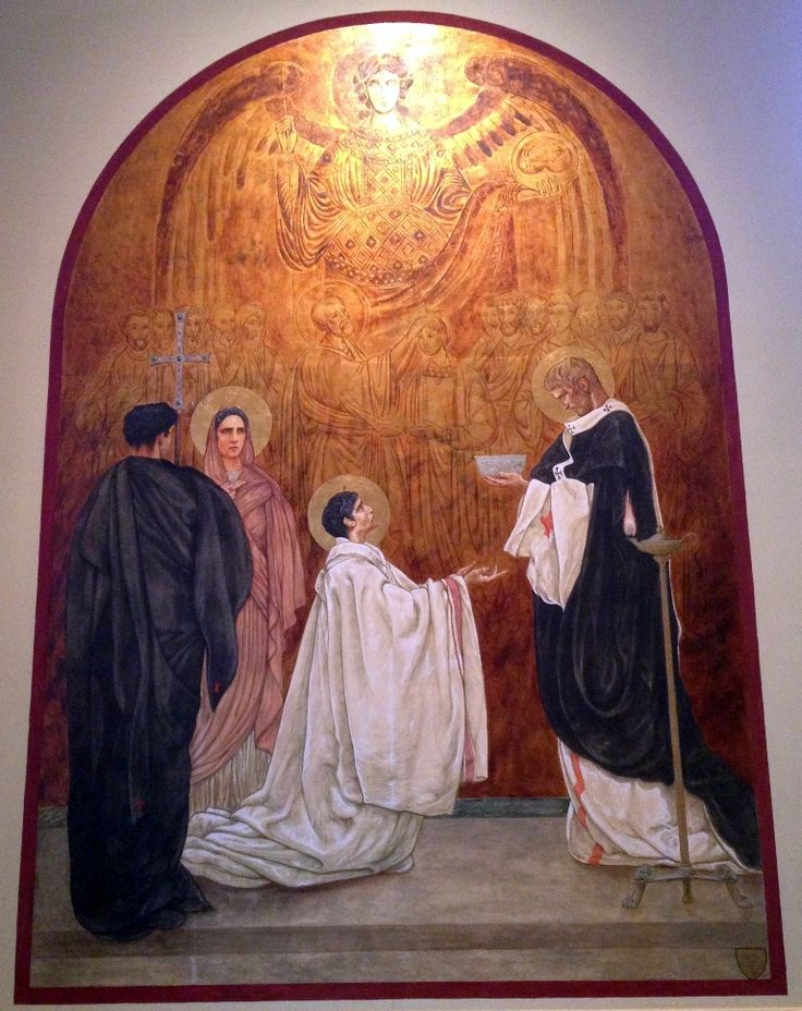Baptism Of St Augustine - Jan Henryk de Rosen (February 25, 1891 – August 22, 1982)