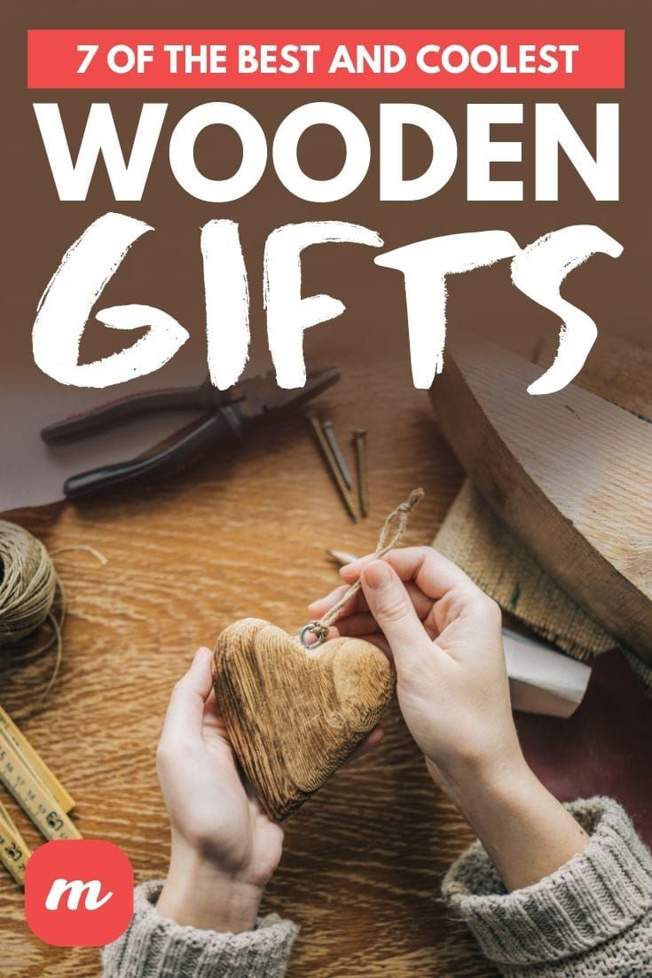 7 Of The Best And Coolest Wooden Gifts In 2020 Handmade Gifts For Men Wooden Gifts Wooden Gifts For Her