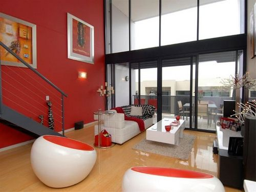 71 best red living room images on pinterest   red living rooms