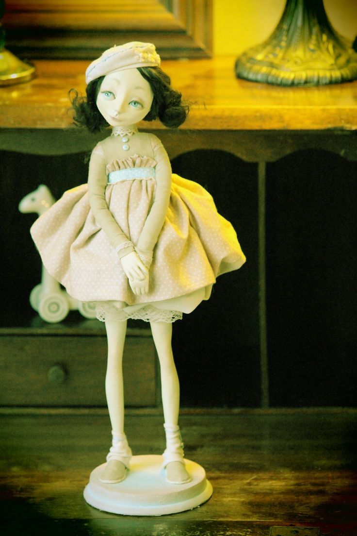 Art Doll. Paperclay,