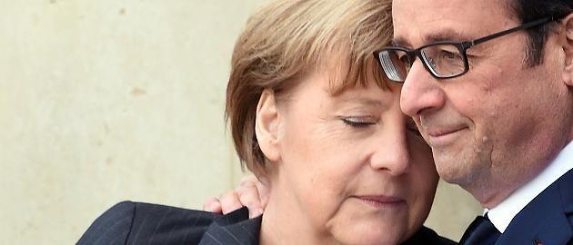 Trauermarsch in Paris Emotionale Bilder: Hier trauert Kanzlerin Merkel mit François Hollande  Bis zu eine Million Menschen gehen in Paris auf die Straße, um ein Zeichen gegen Gewalt und Terror zu setzen - darunter Bundeskanzlerin Merkel. http://www.focus.de/politik/videos/trauermarsch-in-paris-hier-trauert-kanzlerin-merkel-mit-den-franzosen_id_4396779.html