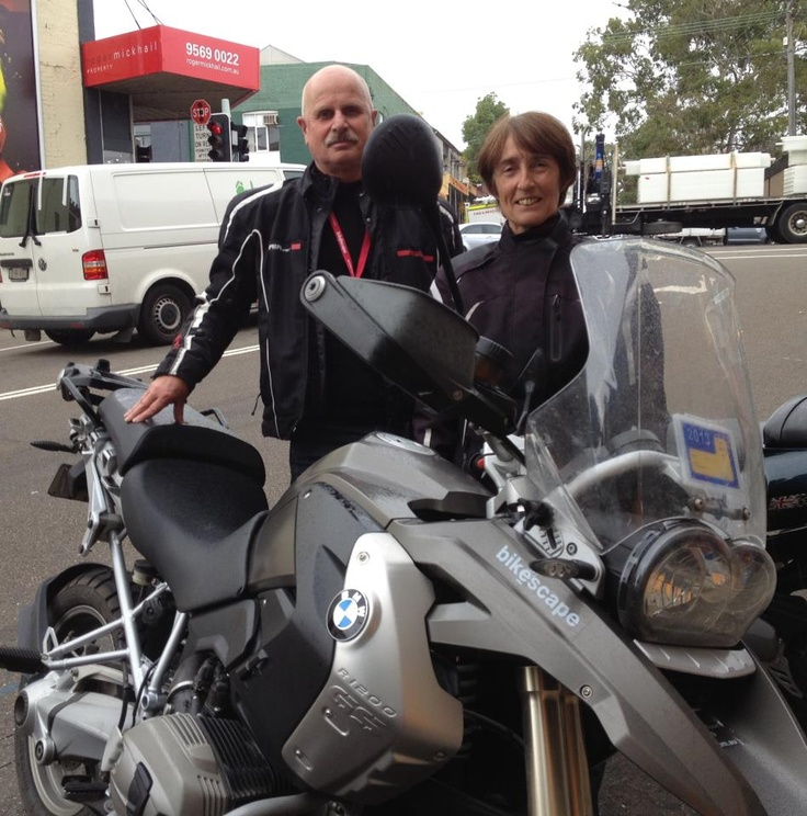 The Veerman's from The Netherlands returned the BMW R1200GS to Sydney today after spending the last 28 days touring around the South East corner of Australia. Loved their whole Australian experience!!