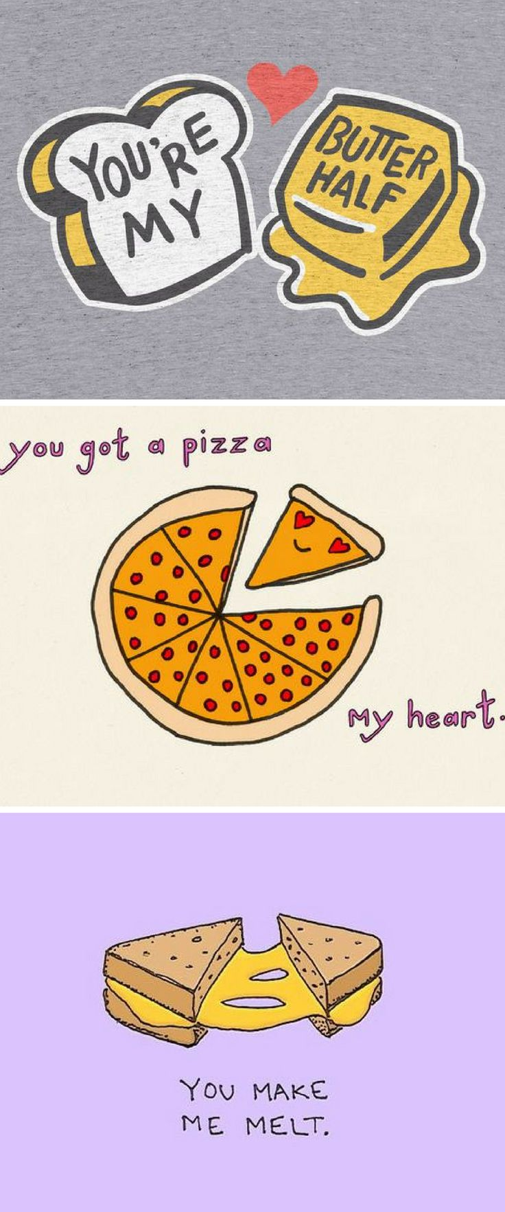 Fun Food Puns For Valentines Day And Beyond Sketches Valentines Valentines Day Love