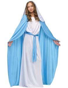 Girls Mary Costume
