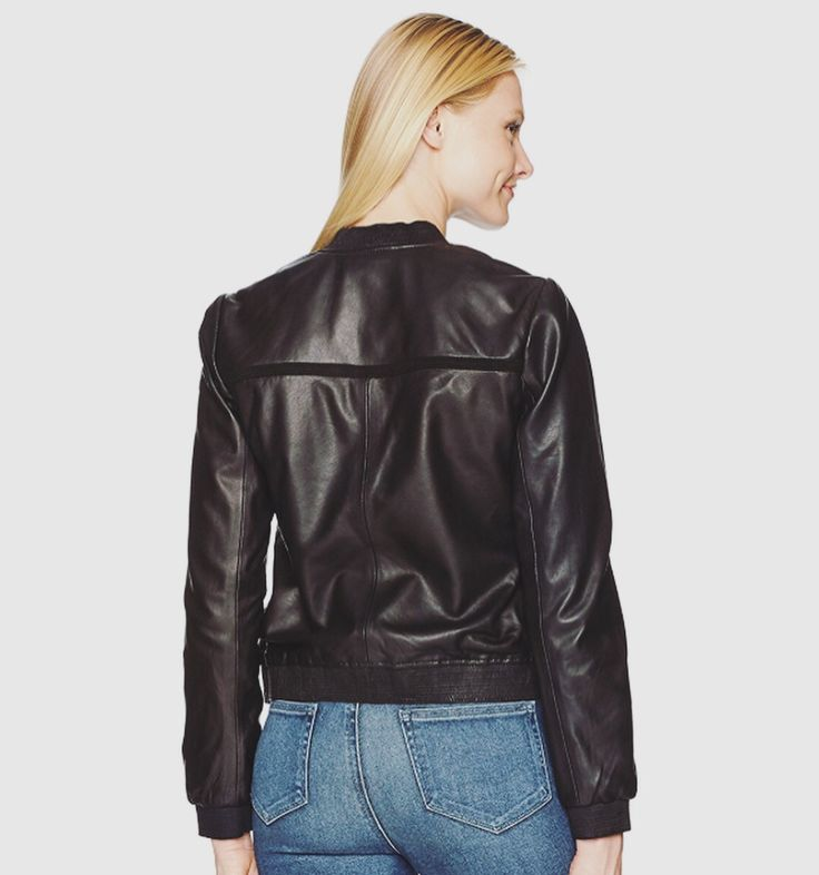 Sarah black leather jacket  #black #leatherwea #lotd #christmas #wiw #leatherjac…