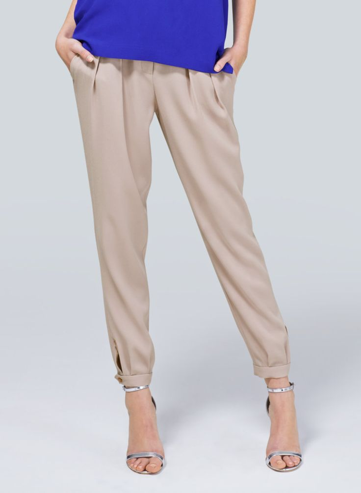 BABATON BLAKE PANT - Relaxed menswear-inspired tailoring with a clever touch at the ankles