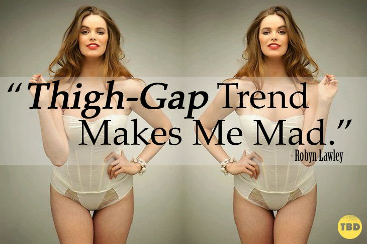 "Robyn Lawley on The Dangers of the ""Thigh Gap"" Trend 