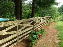 farm fence ideas - Google Search                                                                                                                                                      More