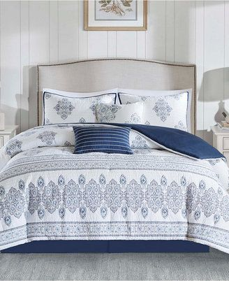 Harbor House Sanibel Reversible 5PC Quilted Damask Print Full/Queen Coverlet Set - $149.99