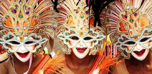 Masskara Festival Bacolod Philippines  My Mama Bear promised to take me to the Masskara Festival after I graduate. I'm excited!