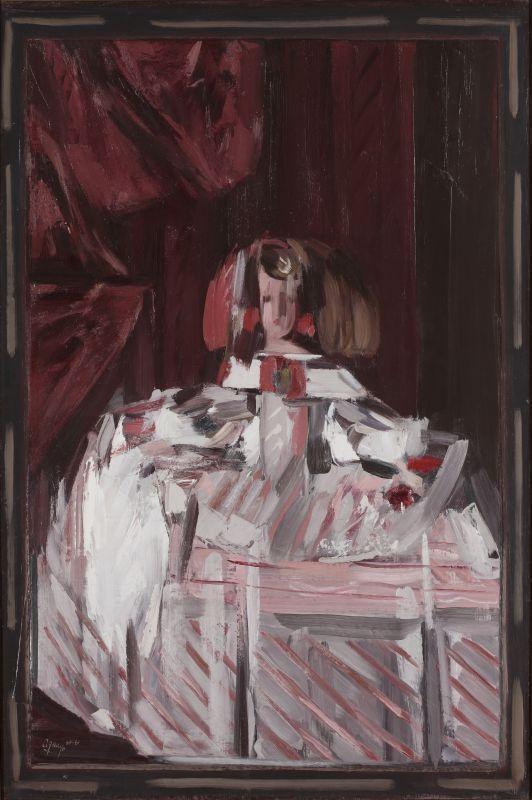 Infanta Margarita in pink - Fermin Aguayo . 1961
