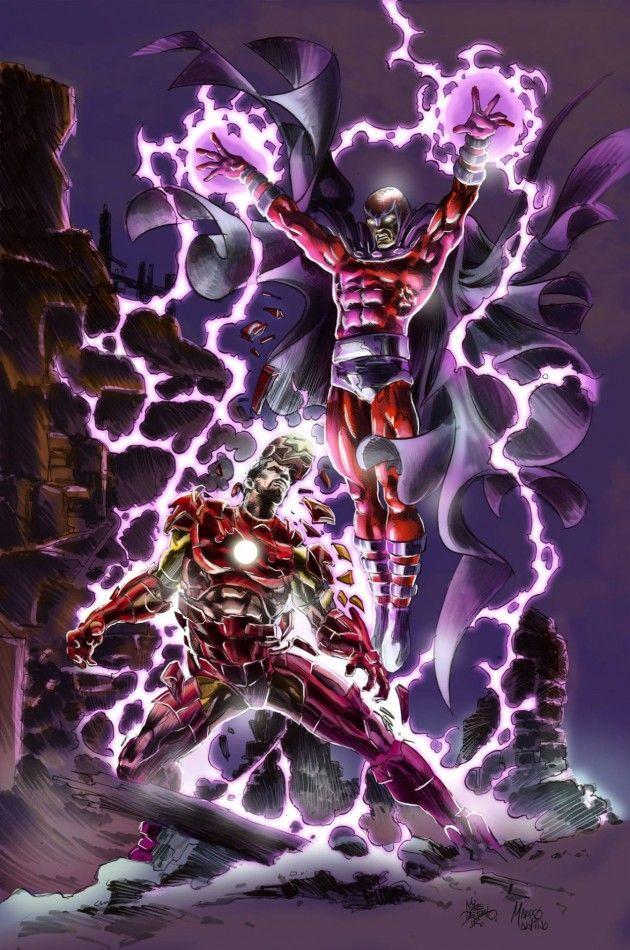 Magneto vs Ironman