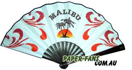 Bamboo Frame Promotional Hand Fan  Our natural bamboo finish hand fans give you the quality and durability of wood at a low price. These fans feature paper material that is printed with the design of your choice.  Customer designs minimum order quantity is 500pcs  9inches(23CM): single side full color printing price with the transportation to door by DHL is 2.65AUD, Double sides printing is 2.90AUD. 1feet(30cm): double sides full color printing with ransportation by DHL 3.40AUD