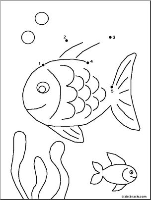Fun Activities: Dot to Dot Printable Worksheets for Kids