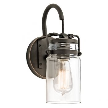 Brinley 1lt kinkiet Elstead Lighting kichler
