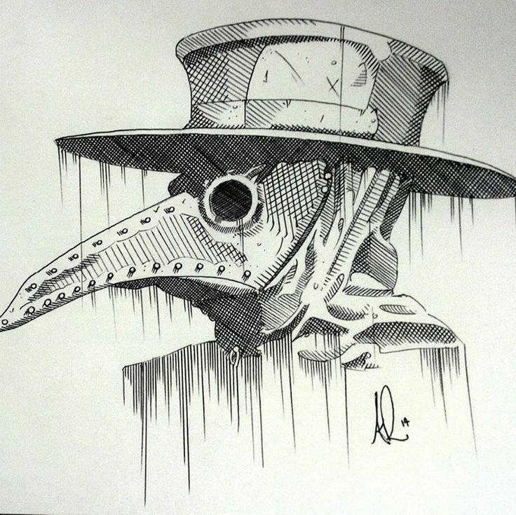 Картинки для срисовки карандашом мрачные