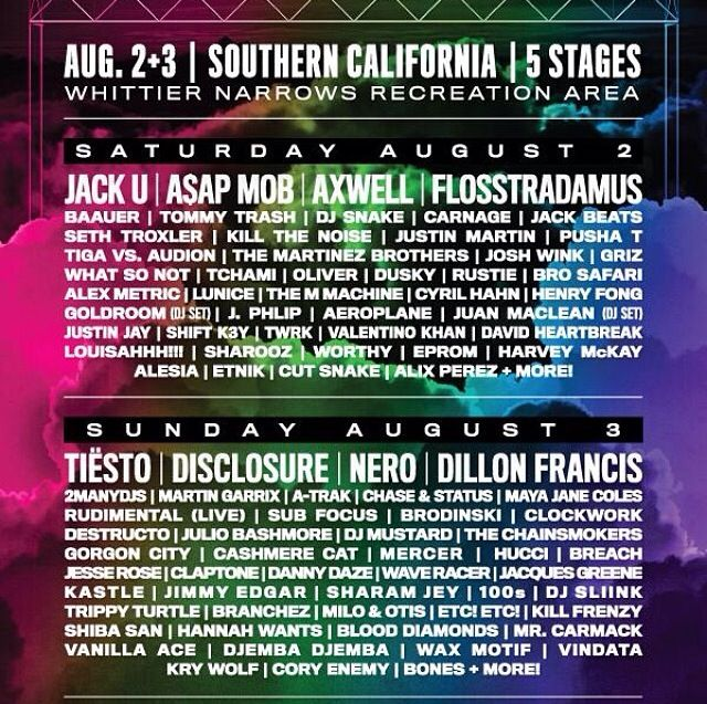 Hard summer lineup 2014! How am I going to decide who im going to see!!