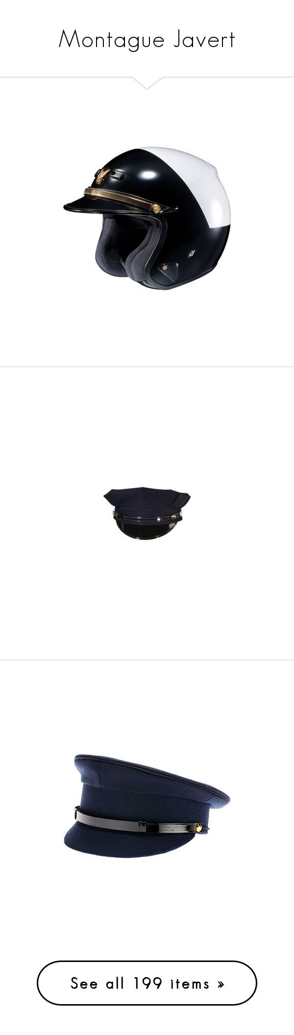 """Montague Javert"" by natmartinezcr ❤ liked on Polyvore featuring accessories, hats, black, men's accessories hats, canada goose hat, visor hats, canada goose, ear flap hats, earflap hat and navy hat"