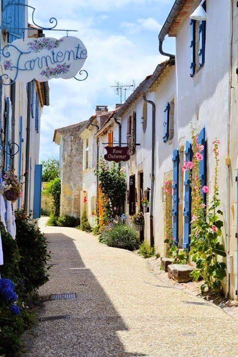 Village of Talmont, France