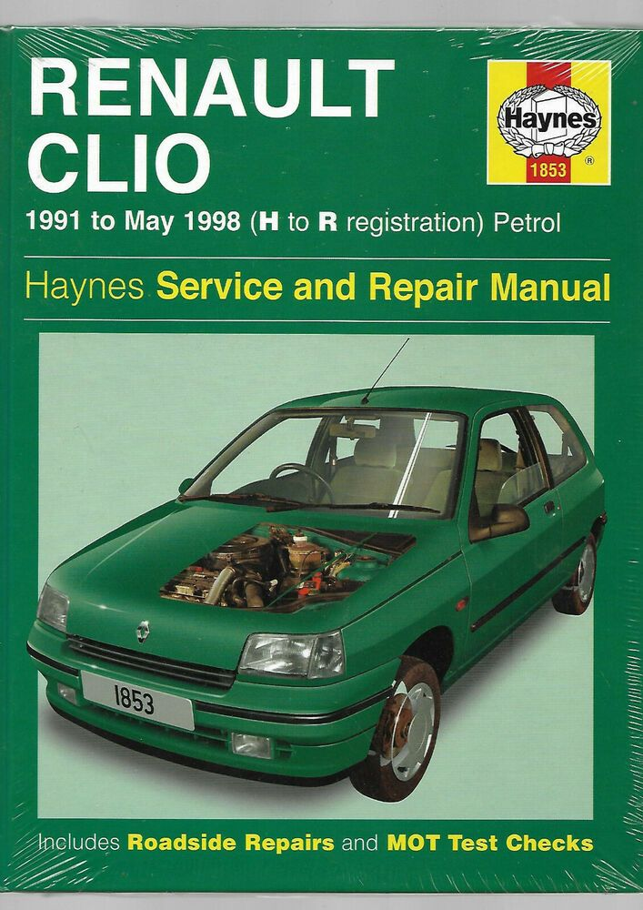 New Sealed Haynes Renault Clio Service And Repair Manual 16 Valves Petrol Hardbk Renault Clio New Renault Clio New Renault